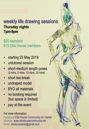 Life Drawing Class at Ellis House